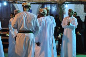 and our omani brothers readying themselves for their own dance.